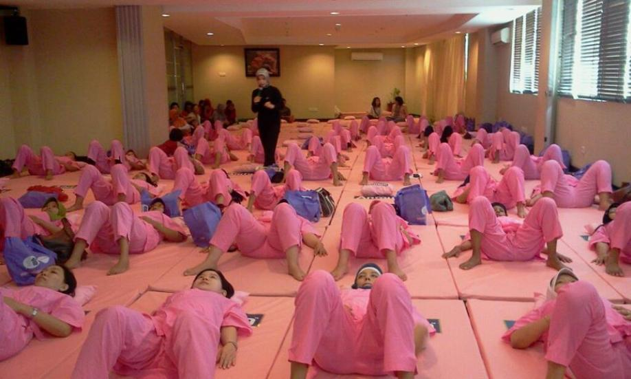 kelas yoga di bandung