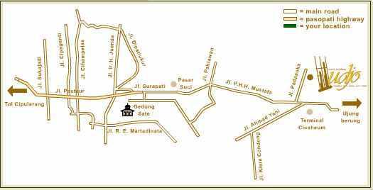 peta lokasi saung angklung udjo