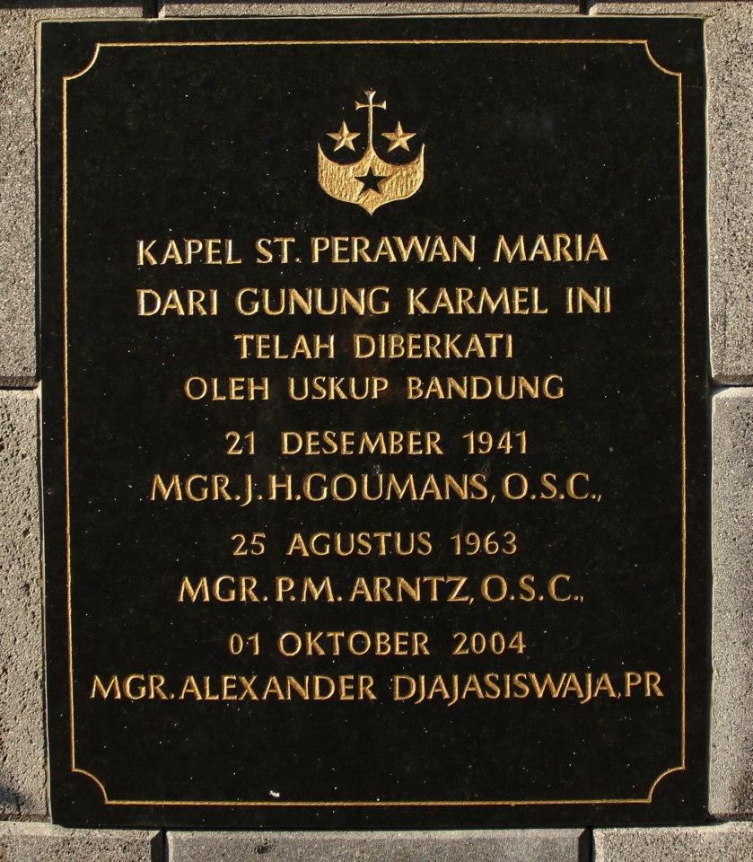 Wisata Religi Biara Karmel Lembang