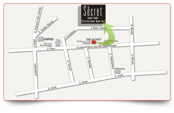 Factory Outlet Terkenal di Bandung The Secret